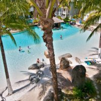 Lagoon Pool at Beach Club Premier Private Holiday Apartments, Palm Cove