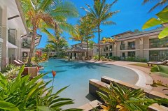 Private Lagoon Style Swimming Pool - Port Douglas Apartments within Sea Temple Holiday Resort