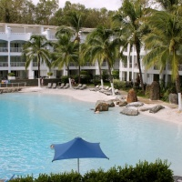 Lagoon Swimming Pool - Beach Club Apartments Palm Cove