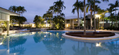 Lagoon Swimming Pool at Oaks Resort Port Douglas