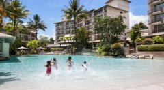 Lagoon Swimming Pool at Novotel Cairns Oasis Resort - Great Family Accommodation