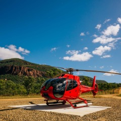 Cairns Helicopter Flights - Land in the old mining town Tyrconnell