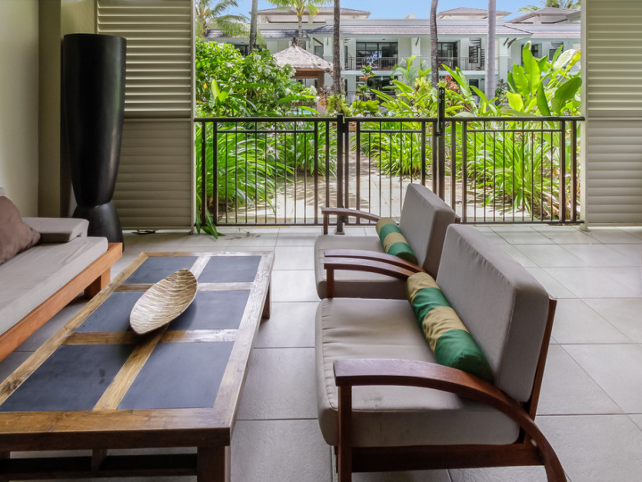 Large balconies some with direct access to resort pool and gardens | Port Douglas Private Apartments