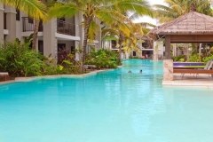 Sea Temple Port Douglas Large Freeform Swimming Pool - Port Douglas Resort Accommodation