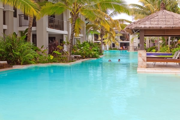 Pullman Sea Temple Port Douglas Resort complxe Large Freeform Swimming Pool - Port Douglas Resort Accommodation