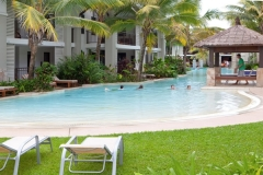 Large Freeform Swimming Pool Sea Temple Port Douglas