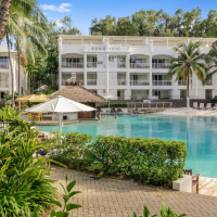 Large Lagoon Swimming Pool at Beach Club Apartments Palm Cove
