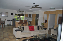 Large Open Plan Living - Palm Cove Holiday House