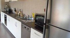 Large Refrigerator and Modern Kitchen Facilities - Palm Cove Holiday House