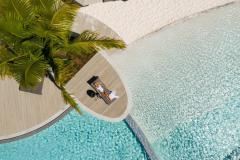 Large Resort Swimming Pool with Sandy Beach | Riley Luxury Resort Cairns