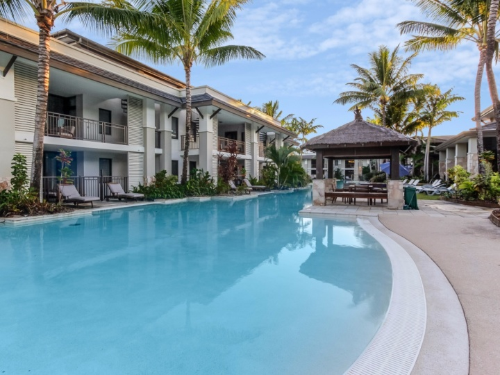 Large Resort Swimming Pool Sea Temple Resort complex Port Douglas Private Apartments
