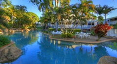 Large Swimming Pool - Sovereign Resort Cooktown