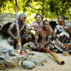 Learn from the Indigenous Aboriginals about their cultural ways at Tjapukai Aboriginal Park