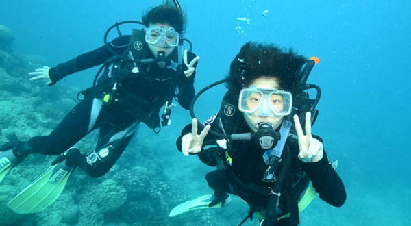 learn to scuba dive Cairns