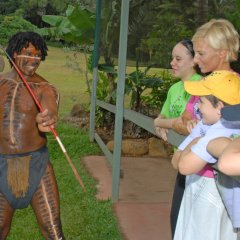 Learning Spear Throwing | Aboriginal Cultural Experience | Rainforestation Kuranda Day Tour | Departs From Cairns Tropical North Queensland