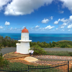 Lighthouse lookout at Cooktown