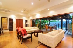 Spacious Living Area opening to out door area - Port Douglas Holiday Home