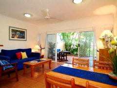 Living Room - The York Beachfront Apartments - Cairns Beaches