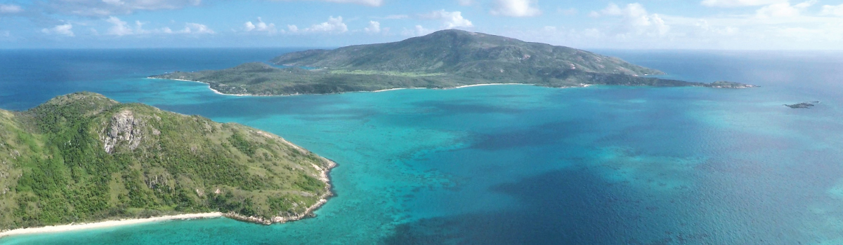 Lizard Island Helicopter Scenic Flight and Landing