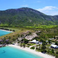 Lizard Island View from Helicopter - Private Helicopter Charter