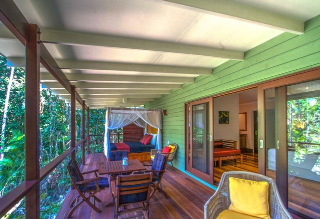 Lodge Suite Oversized Verandah - Luxury Daintree Rainforest Eco Lodge