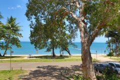 Looking out to Palm Cove Beach | Palm Cove Private Apartments