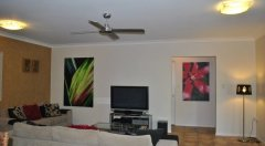 Lounge complete with 3D Smart TV, Blue Ray player - Private Palm Cove Holiday Home
