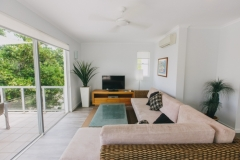 Lounge Room - On the Beach Port Douglas Apartments