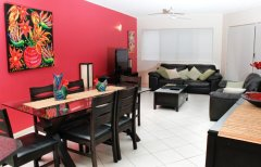 Lounge Room - North Cove Cairns Esplanade Apartments