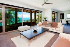 Lounge with stunning Ocean Views