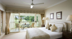 Luxurious Bedrooms in the upstairs Villas