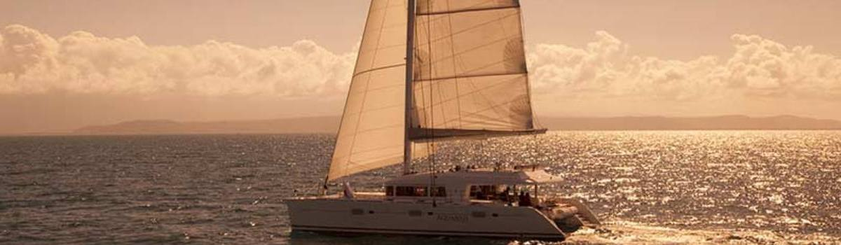 Luxurious Private Sunset Sail Port Douglas on the Great Barrier Reef Australia