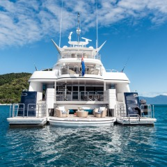 Luxury Great Barrier Reef Charter Boat