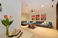 Mirage Port Douglas Beachfront Estate - Luxury Holiday Home - Media Room