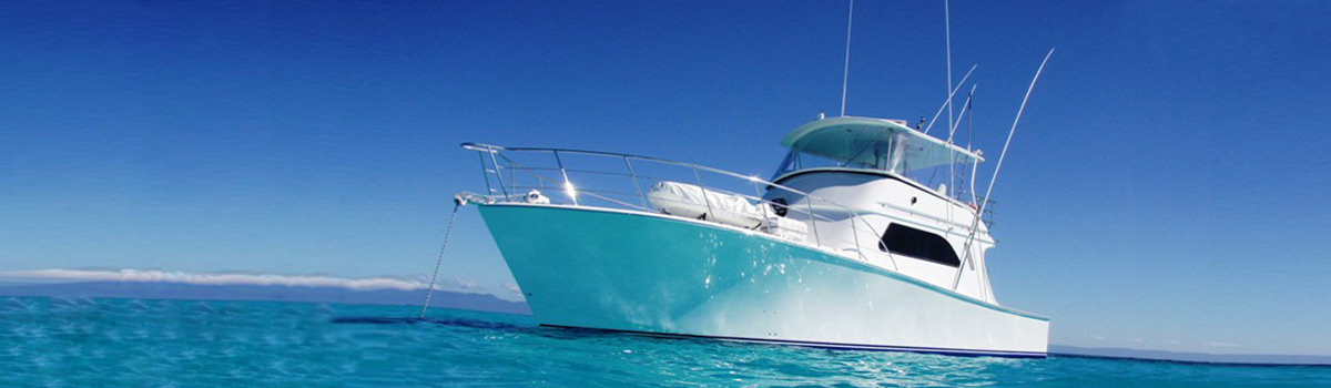 Luxury private charter fishing boat Cairns Queensland Australia