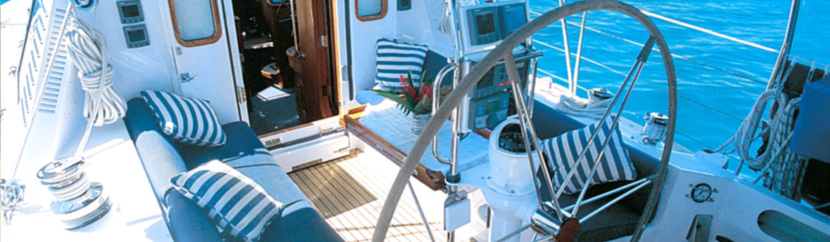 Luxury private charter sail boat Australia's Great Barrier Reef