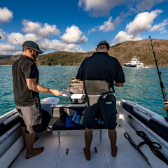 Cairns Superyacht | Private Day Charter | On Board Activity | Fishing