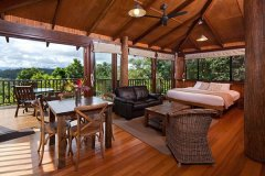 Luxury Private Rainforest Treehouse at Rose Gums  - Cairns' Atherton Tablelands Accommodation