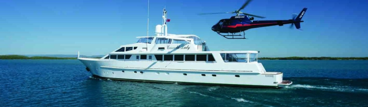 Luxury Superyacht Charter from Cairns