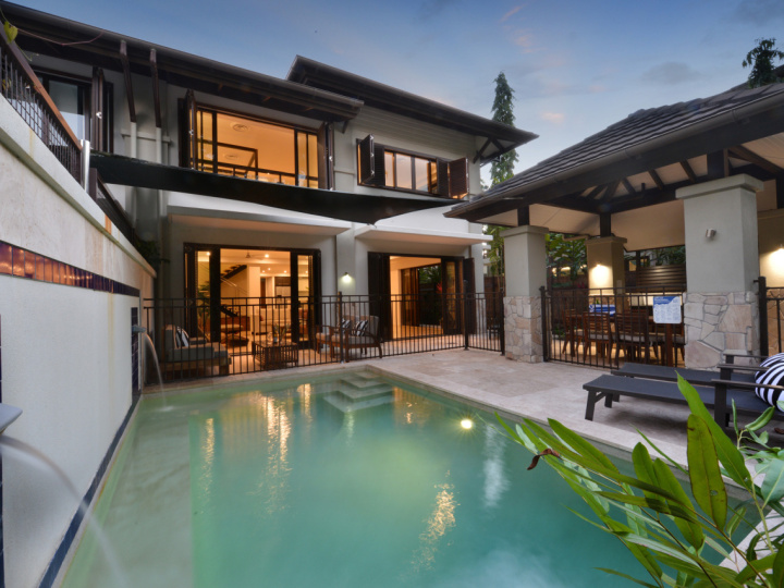 Luxury Villas with Private Plunge Pool at Sea Temple Port Douglas Private Apartments