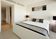 Master Bedroom with Walkin Robe & Spa Bath Ensuite - Luxury Resort Apartments Port Douglas