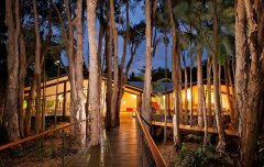 Main building at Night - Kewarra Beach Resort