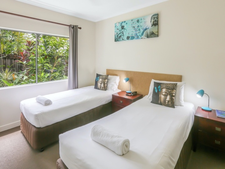 2nd Bedroom in Two Bedroom Apartments| Mango Lagoon Resort & Spa Palm Cove