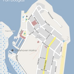 Map of Port Douglas marina