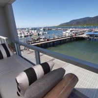 Harbour View Rooms available Cairns Harbour Lights Complex