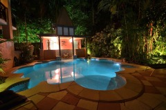 Heated Swimming Pool for romantic evenings in winter Port Douglas