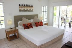 Master Bedroom - Beaches Holiday Apartments Port Douglas Beachfront Accommodation