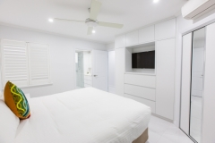 Palm Cove Accommodation - Master Bedroom - On The Beach Luxury Holiday Apartment Palm Cove