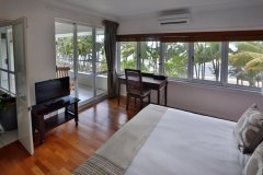 Master Bedroom Ocean Views overlooking Palm Cove