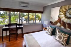 Master Bedroom with Beach views over Palm Cove - Alamanda Private Apartment Palm Cove